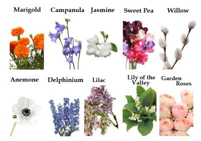 Victorian Era Flowers
