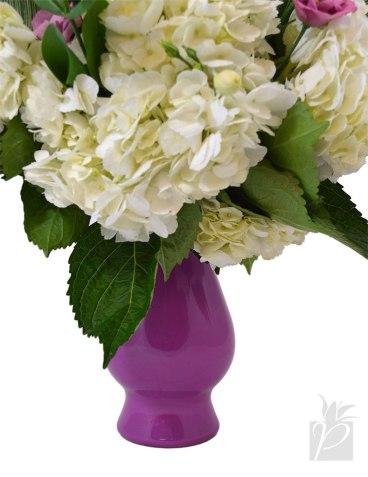 Bella Vase in Radiant Orchid