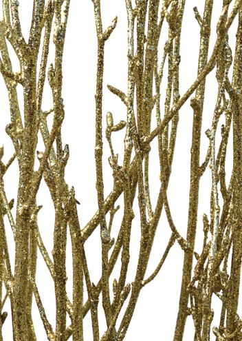 Gold Glitter Birch Bunch